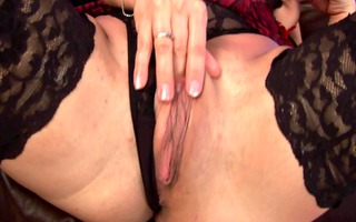 aged nika plays with herself - czechsuperstars