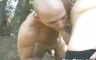 gay latino soldiers enjoys unfathomable oral and