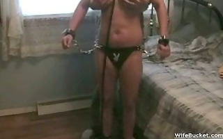 wife gets roped and drilled