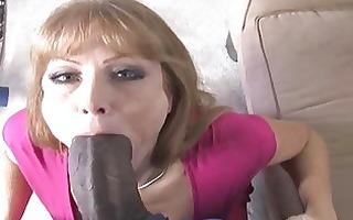 lewd mother i bitch enjoys a precious dark pecker