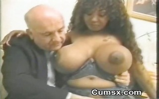big titty ghetto darksome afro hoe wet crack with