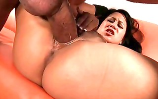 oriental floozy kayme kai plays with bulky