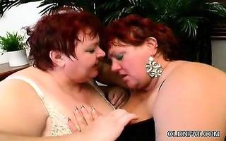 bawdy cleft licking older bbws