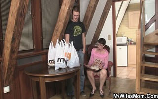 lustful mother-in-law needs new rod