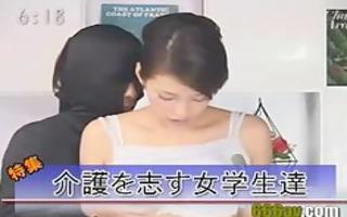 japanese newsreader drilled