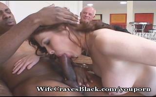 breasty wife fucking darksome dude