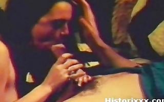 cute gipsy girl gives a fascinating blow on