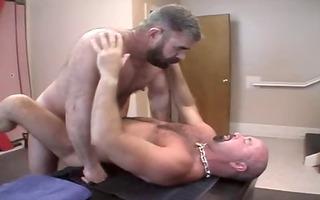 bear mark with dad
