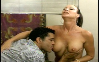 hawt mature lady pays the pool chap with snatch