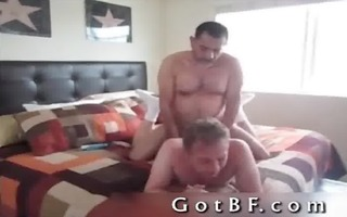 bearded daddy fucks his paramour in the wazoo 11