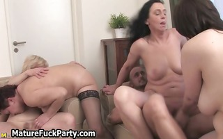 favourable boy fucking a group