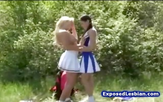 sexy bigtit lesbo cheerleaders