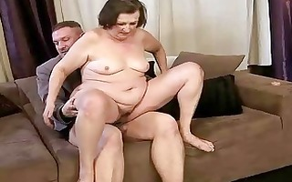unsightly granny getting screwed marvelous hard