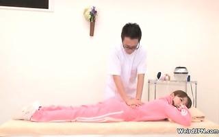 concupiscent japanese massage boy groping