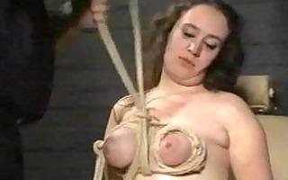 breast punishment and extraordinary bondage of