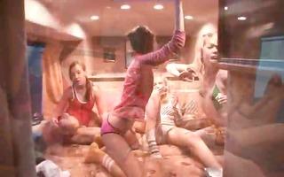 girly dreams in peculiar porn bus