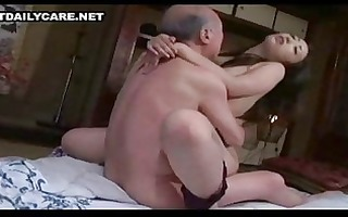 old and youthful oriental pair 2