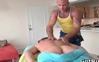 sexy boy acquires oiled up and prepped for part9