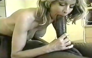 hawt milf takes on a massive bbc on camera while