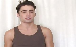 cute homo man shows off his hot body