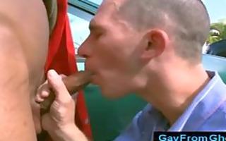 public interracial homo oral-stimulation in