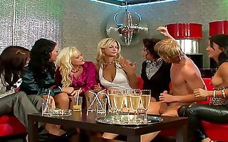 breathtaking mommas in nylons playing with