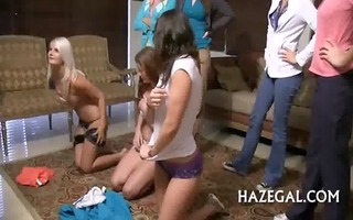 girlies play with sex toy