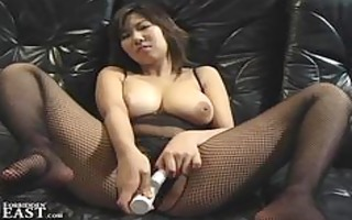 japanese non-professional cutie with devices and