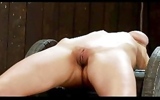 cutie with breast servitude getting fastened to