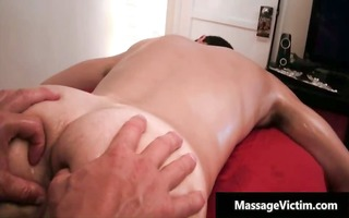 hawt and slutty man acquires the massage part0