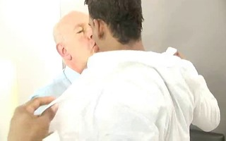 dad with sexy latino chap