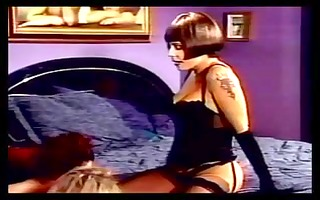 bdsm lesbo threesome have some in bedroom