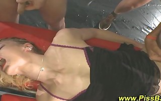 whore fuck make water drenching