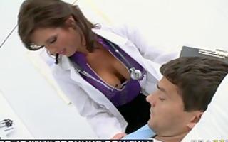 large tit brunette hair mother i pornstar doctor