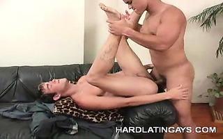 naughty homosexual latinos bareback anal