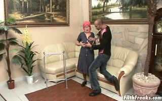 old whore who can not acquire sufficiently dick!