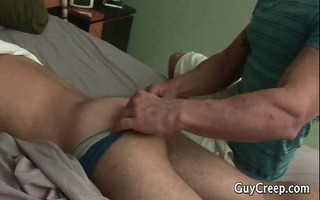 homosexual hunks jerking their knobs part1