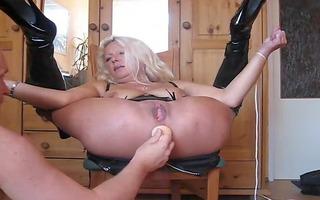 german wife rectal gap play