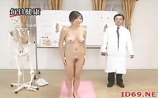 japanese hotty with curly vagina follows docs