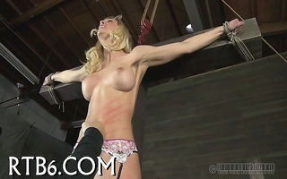 charming angel receives amoral teasing