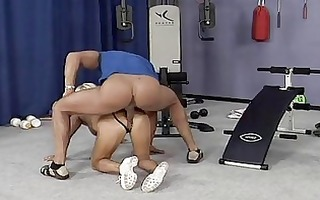mad old mamma acquires hard drilled