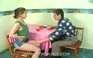 daddy drilled juvenile legal age teenager