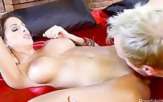 marvelous nympho fucking on a sex swing