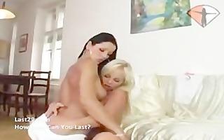 lesbian babes love their toys