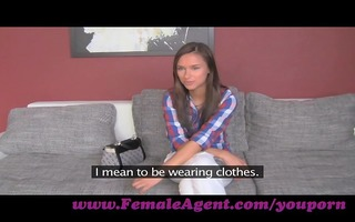 femaleagent. cash talks