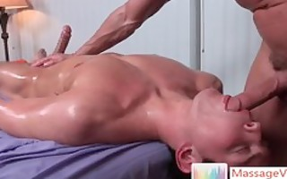 dylan receives oiled and prepped for massage 2