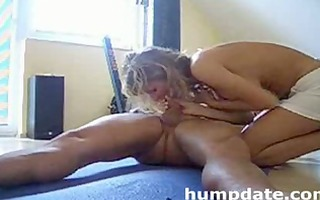 breasty mother i rides knob and gets creampied