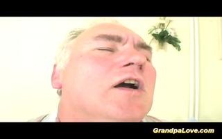 grandpapa is screwed by sexy nurse