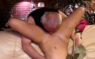 old man with a slut
