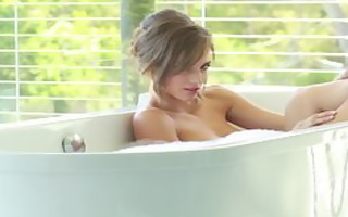 hawt sexy scene with malena morgan playing with